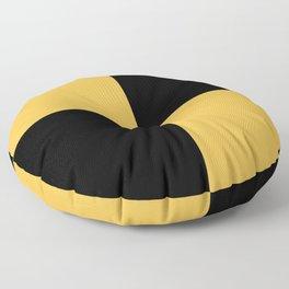 Lima Modern nautical maritime Floor Pillow