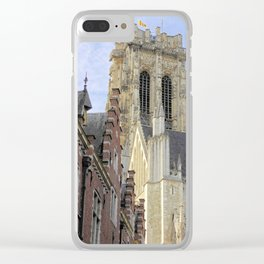 The mighty cathedral Clear iPhone Case