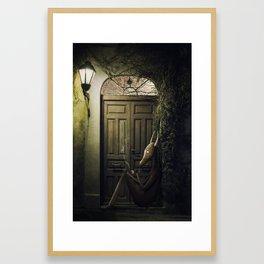 Shamán Framed Art Print