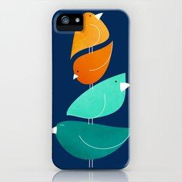 Bird Stack III iPhone Case