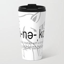 Unicorn Defined Travel Mug