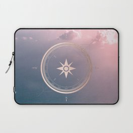 The Edge of Tomorrow - Rosegold Compass Laptop Sleeve