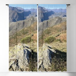 rock on the mountain Blackout Curtain