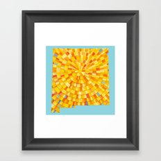 New Mexico Sun Framed Art Print