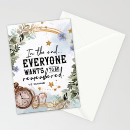 Addie Larue - Wants To Be Remembered Stationery Cards