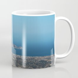 View On Heracleon And The Sea On Crete in Greece Coffee Mug