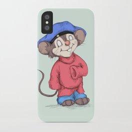 Fievel Plushkowitz iPhone Case