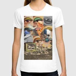 stagnant composition T-shirt