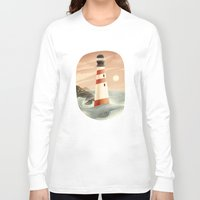 the whale Long Sleeve T-shirts featuring Whale by Seaside Spirit