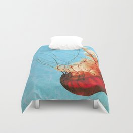 Sea Jelly Duvet Cover