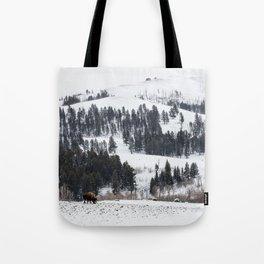 Specimen Ridge - Yellowstone National Park Tote Bag