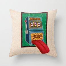 Jackpot Throw Pillow