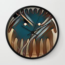 Worry Warrior Wall Clock