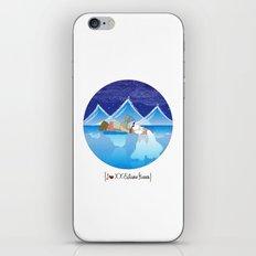 I {❤} XX Eskimo Kisses iPhone & iPod Skin