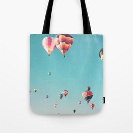 Hot Air Balloon Ride Tote Bag