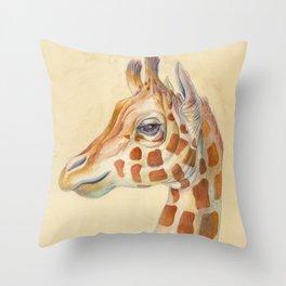 Giraffe #2 Throw Pillow