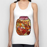vegetables Tank Tops featuring Preserved vegetables by ChiLi_biRó