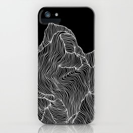 Inverted Crevice iPhone Case