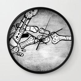 Skull #3 (Lost Pieces) Wall Clock