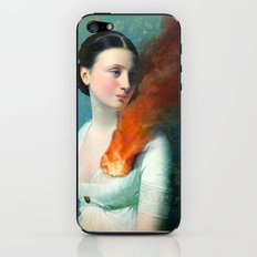 Portrait of a Heart iPhone & iPod Skin