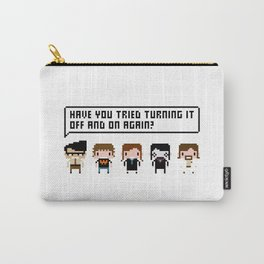 The IT Crowd Characters Carry-All Pouch