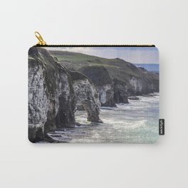 Travel to Ireland: A Castle View Carry-All Pouch