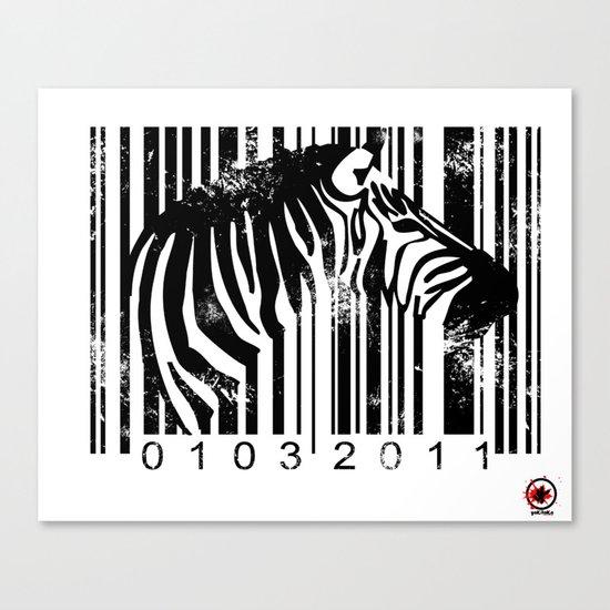 Code Z Canvas Print
