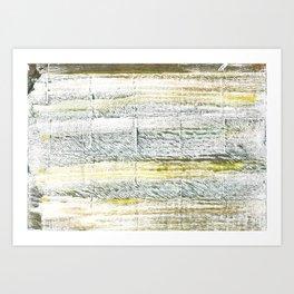 Lotion abstract watercolor Art Print