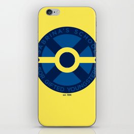 Sabrina's School for Gifted Youngsters iPhone Skin