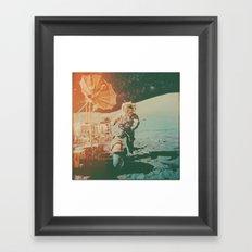 Project Apollo - 11 Framed Art Print