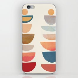 Modern Abstract Art 75 iPhone Skin