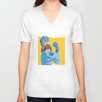 nausicaa V-neck T-shirts featuring Protect the Valley by adho1982