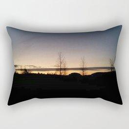 Trees in the Horizon Rectangular Pillow