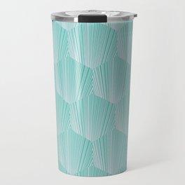 abstract octagone tiles pattern Travel Mug