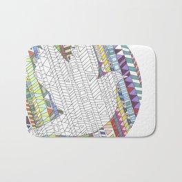 Mosaic Bird Bath Mat