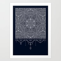 Sacred Temple Poster Art Print