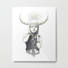 Her Magic Metal Print