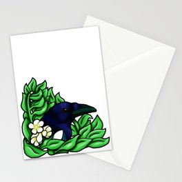 Magpie in the Bush Stationery Cards