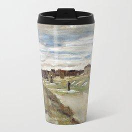 Vincent Van Gogh Bleaching Ground At Scheveningen Travel Mug