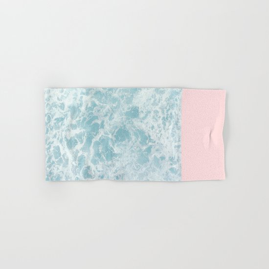 Pink on the Sea Hand & Bath Towel