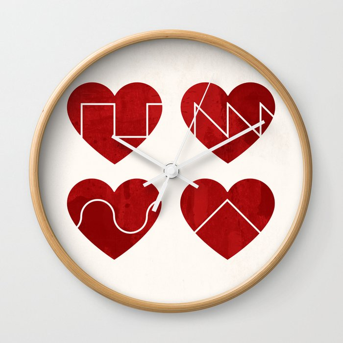 Love Synth Wall Clock