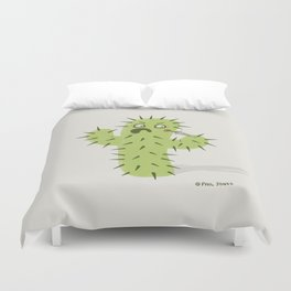 Infected Spine  Duvet Cover