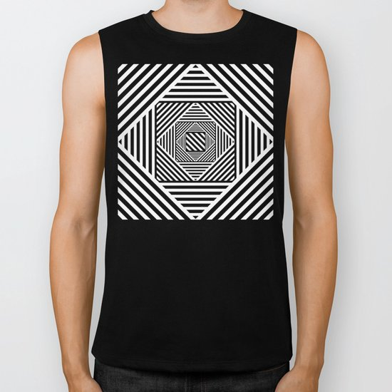 B&W Secret Passage Biker Tank