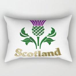Scottish emblem thistle Rectangular Pillow