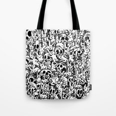 Bunnies & Skulls Tote Bag
