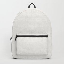 Textured white Backpack