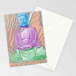 Glitch Buddha Stationery Cards