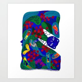 The spring spirit Art Print