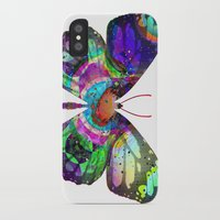 lsd iPhone & iPod Cases featuring LSD butterfly by Pink Eyed Paranoia