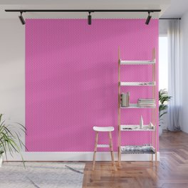 Hearts on Pink by Leslie Harlow Wall Mural